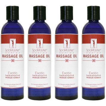 Master Massage 8-oz. 4-Pack Exotic Blend Massage Oil