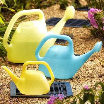 Fiskars 434017-4001 Watering Can, 1 Gallon, Blue