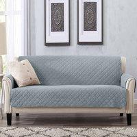 Laurina Stonewash Furniture Protector Sofa, Mirage Grey