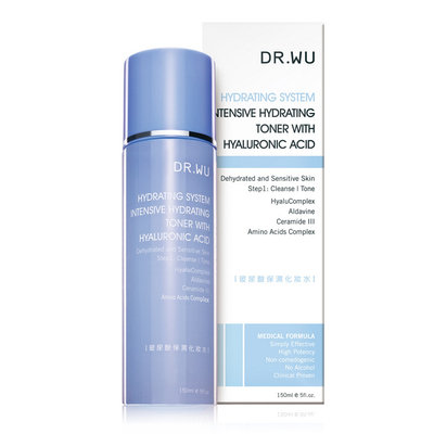 Dr.wu DR. WU Intensive Hydrating Toner With Hyaluronic Acid 150ml