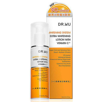 DR.WU Extra Whitening Lotion with Vitamin C+ 50mL
