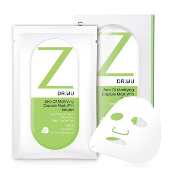 DR. WU Zero Oil Metrifying Capsule Mask with Soberly