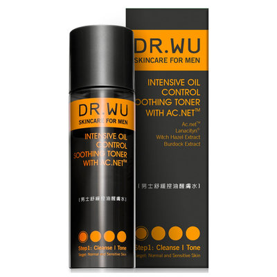 Dr. Wu INTENSIVE OIL CONTROL SOOTHING TONER WITH AC.NET (150 ml / 5 fl oz)