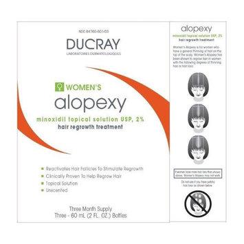 DuCray DUCRAY alopexy 2% WOMEN's (3x 60 ml / 2 fl oz)