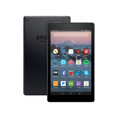 Amazon Fire HD 8 with Alexa (8 HD Display) Black - 16GB