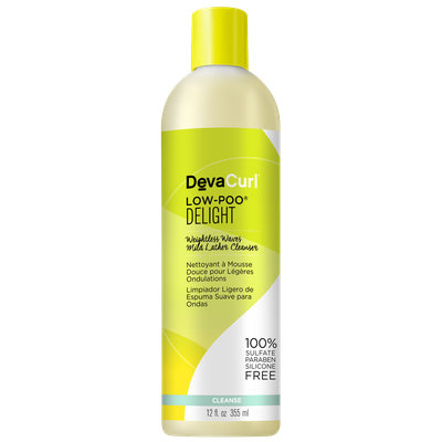 DevaCurl Low Poo Delight, Weightless Waves Mild Lather Cleanser
