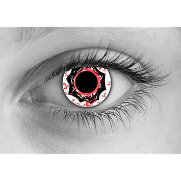 Special Effects Disease of Death Halloween Contact Lenses