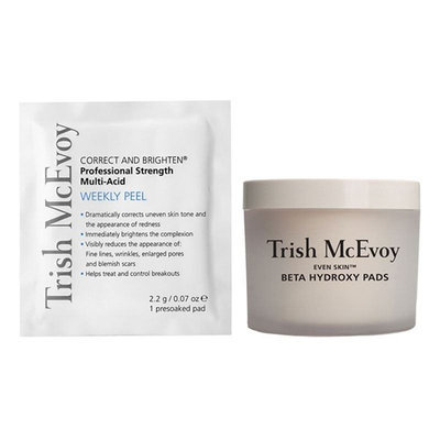 Trish McEvoy Correct and Brighten Daily/Weekly Professional Peel System
