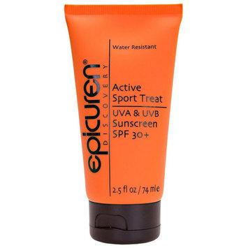 epicuren Discovery Active Sport Treat UVA & UVB Sunscreen SPF 30+ (2.5 fl oz / 74 ml)