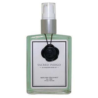 epicuren Discovery SACRED INDIGO an exquisite body oil (4.0 fl oz / 118 ml)
