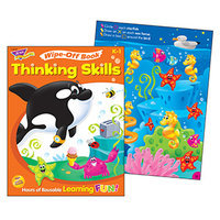 Trend Enterprises T-94235 Wipe Off Book Thinking Skills