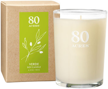 80 Acres Verde Soy Candle - 6.5 oz