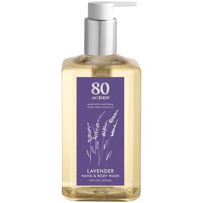 80 Acres Lavender Hand & Body Wash - 10 oz