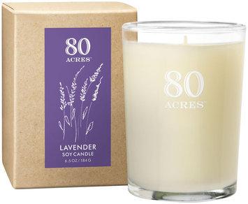 80 Acres Lavender Soy Candle - 6.5 oz