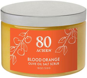 80 Acres Blood Orange Salt Scrub - 14 oz