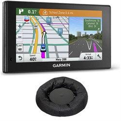 Garmin 010-01540-01 DriveSmart 60LMT GPS Navigator Dash Mount Bundle