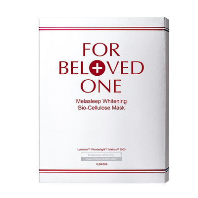 For Beloved One - Melasleep Brightening Lumi's Key Bio-Cellulose Mask 3 pcs