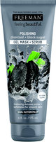 Freeman Feeling Beautiful™ Polishing Charcoal & Black Sugar Gel Mask + Scrub