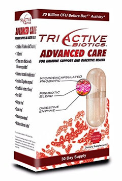 TriActive ADVANCED 3 Stage Maximum Performance Probiotic 14 14 Strains By Essential Source