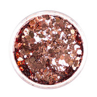 Festival Face Chunky Glitter - Copper Tan