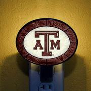 Memory Company Texas A & M Aggies Art-Glass Nightlight
