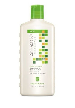 Andalou Naturals 231297 11.5 fl. oz Hair Care Exotic Marula Oil Silky Smooth Shampoo & Conditioners