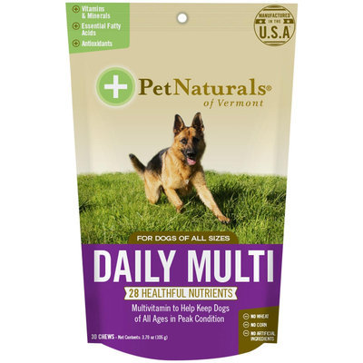 Pet Naturals of Vermont Canine Daily Mutivitamin Chews