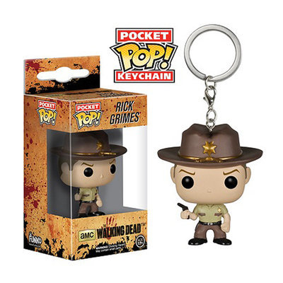 The Walking Dead- Rick Grimes Pop Vinyl Keychain