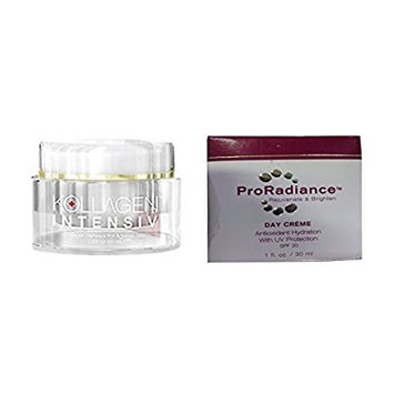 Skinception & Proradience Kollagen 2oz and ProRadience Day Formula Combo Deal