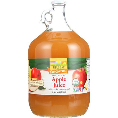 Woodstock Farms Natural Sea Apple Juice 128 Oz -Pack of 4