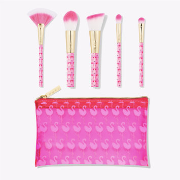 tarte™ flocking fabulous brush & bag set