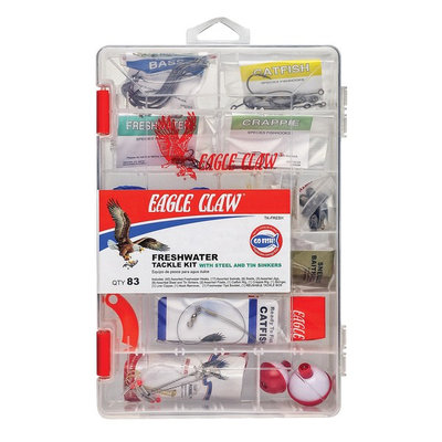 FreshWater Tackle 83pc Kit