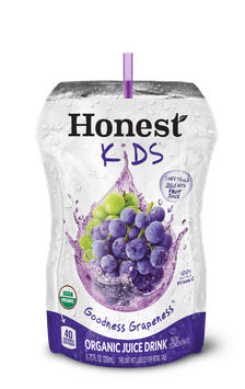 Honest Kids Goodness Grapeness Organic Juice Pouches