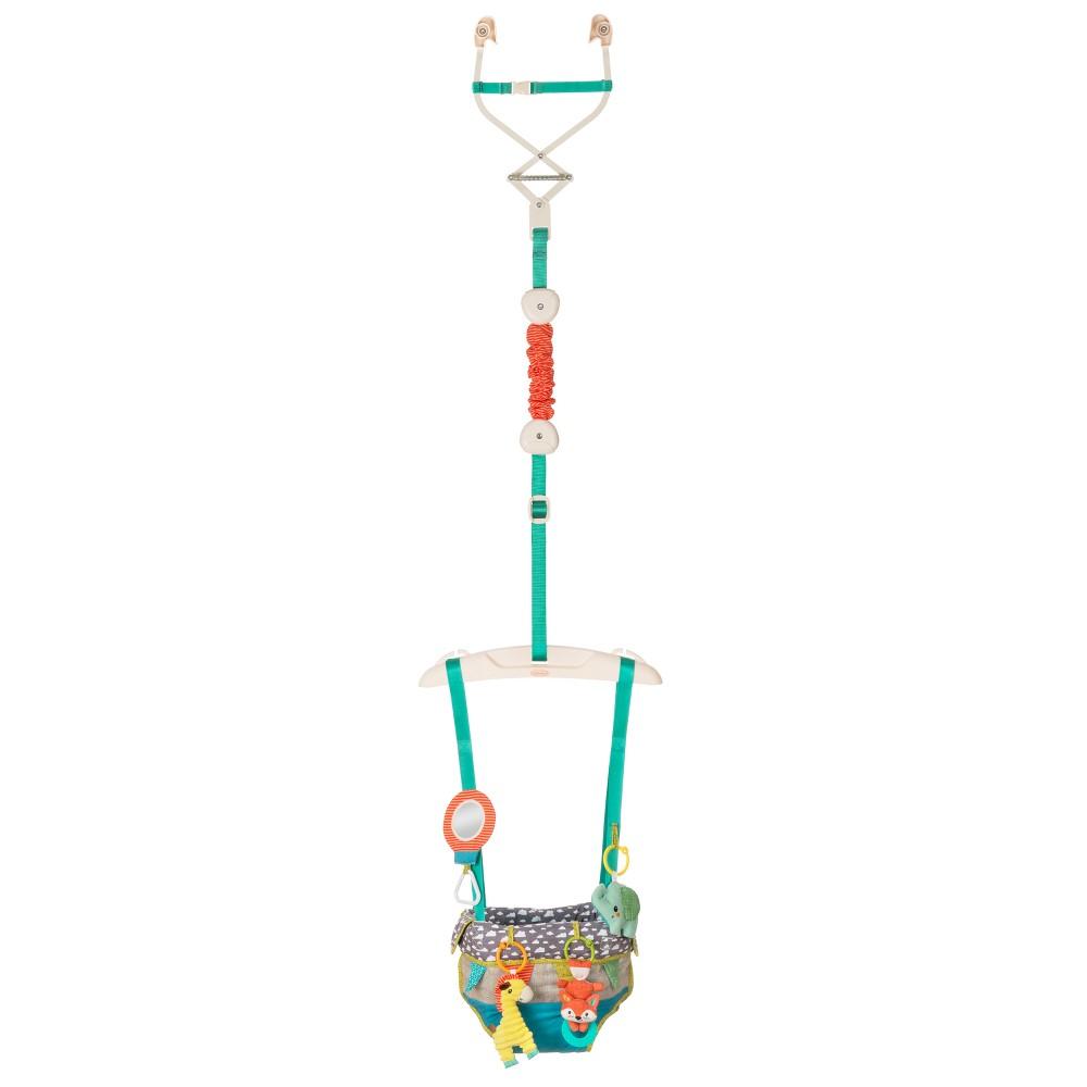 Infantino Go GaGa Up, Up & Away Deluxe Doorway Jumper, Multi-Colored