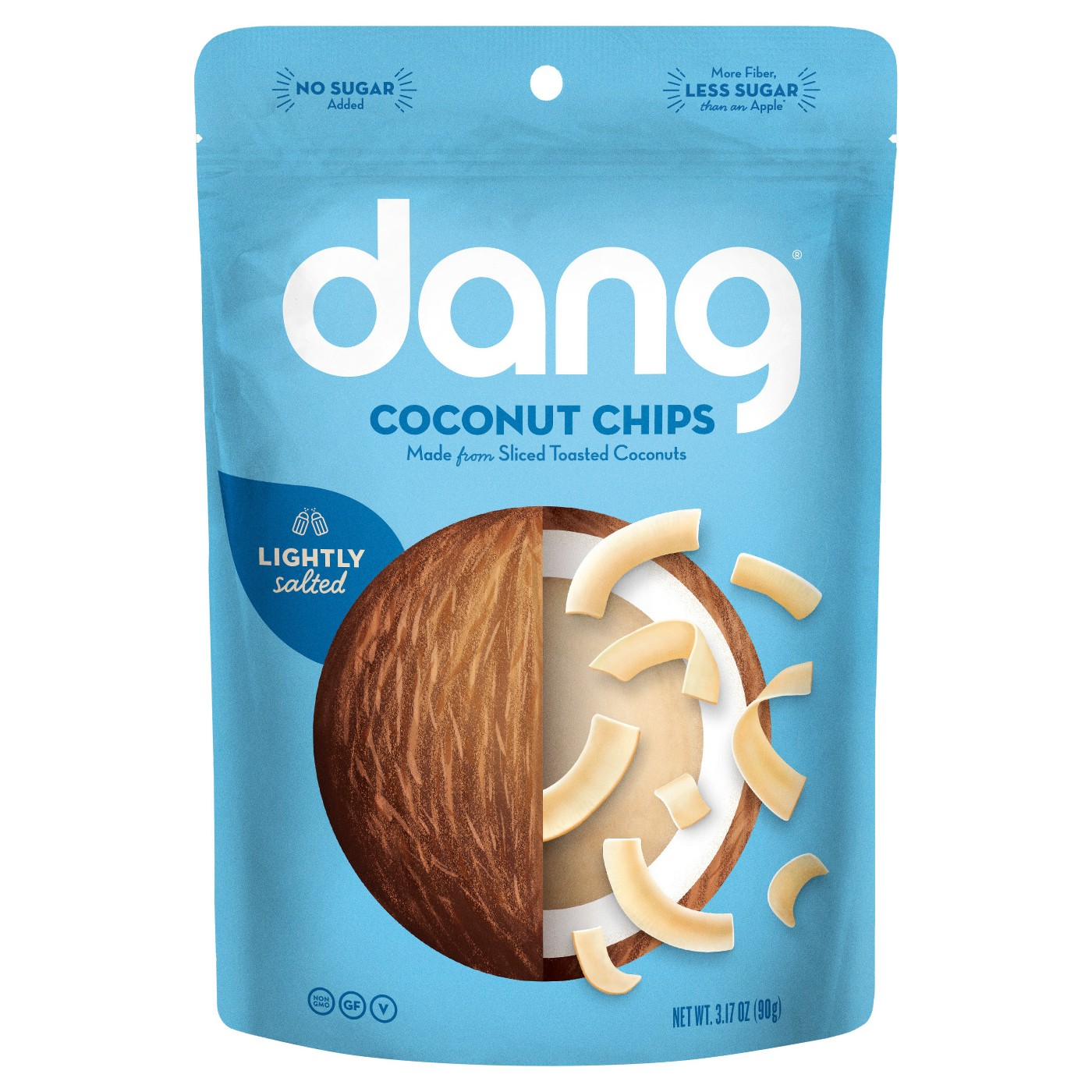 Dang Coconut Chips - Lightly Salted - 3.17oz Family Size