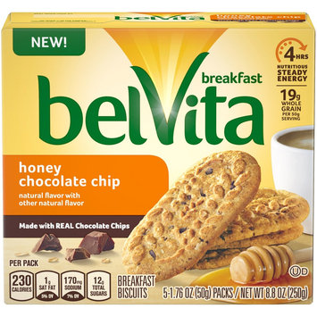 belVita Honey Chocolate Chip Cookies