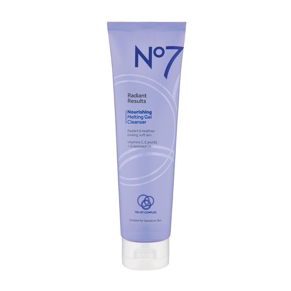 No7 Restore and Renew Nourishing Melt Gel Cleanser - 5 oz.