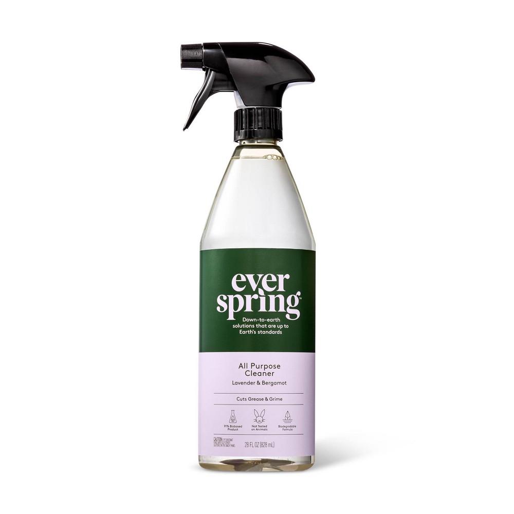 Lavender & Bergamot All Purpose Cleaner - 28 fl oz - Everspring