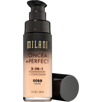 Milani Conceal + Perfect 2-in-1 Foundation+Concealer 00BB Nude - 1 fl oz