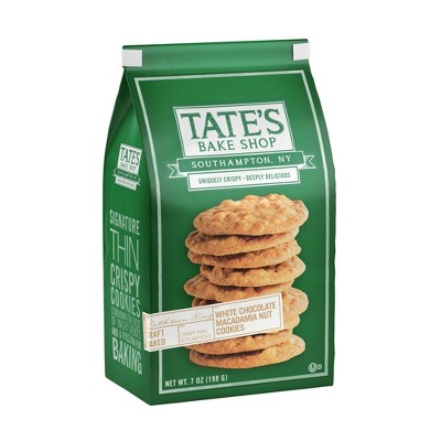Tate's Bake Shop White Chocolate Macadamia Nut Cookies - 7oz