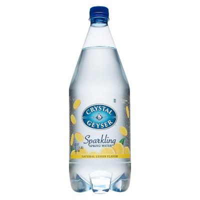 Crystal Geyser Lemon Sparkling Water - 1.25 L Bottle