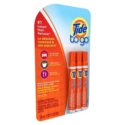Tide To Go Stain Remover Pen - 3 ct