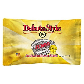 Dakota Style Jumbo Roasted and Salted Sunflower Seeds, 16 oz