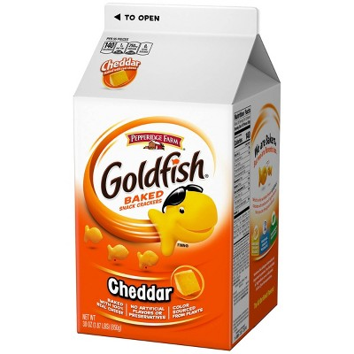 Goldfish Spring Colors Baked Cheddar Snack Crackers - 2oz - Pepperidge Farm