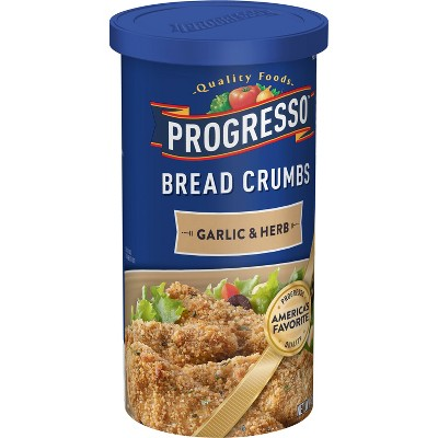 Progresso Garlic & Herb Bread Crumbs 15 oz