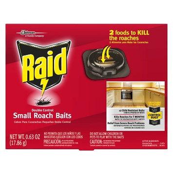 Raid Double Control Small Roach Baits, 12ct