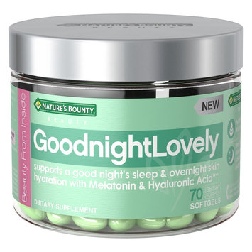 Nature's Bounty® GoodnightLovely Dietary Supplement Beauty Gels