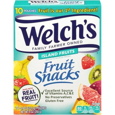 Welch's Tropical Fruit Snacks - 9oz