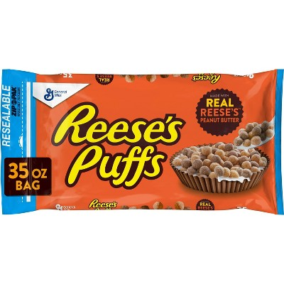 Reese's Puffs Breakfast Cereal Bag - 35oz - General Mills