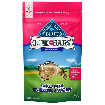 Blue Buffalo Blueberry & Yogurt Dog Treats - 8oz